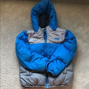 EUC The North Face Moon Doggy Reversible Coat.